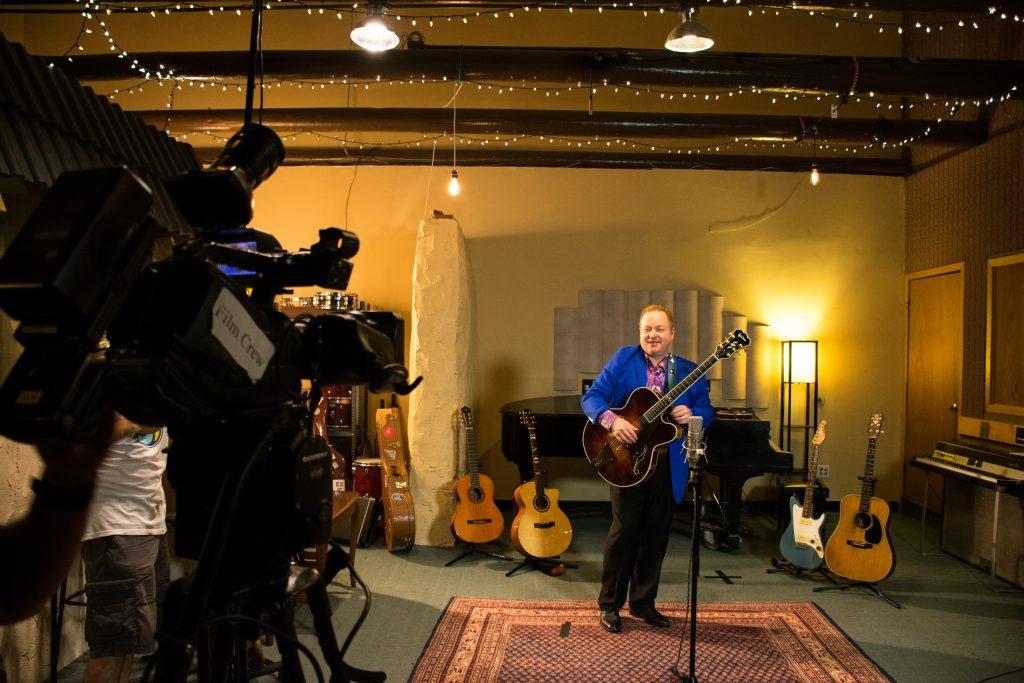 Richie Kaye at Sugarhill Studios